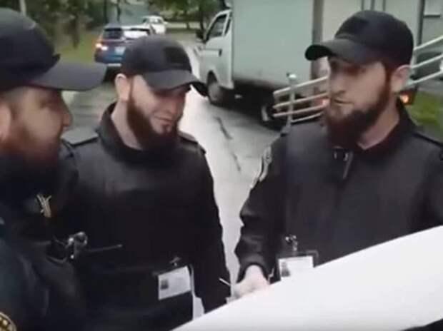 Чеченские патрули в Троицке проводят «воспитательную работу» с горожанами