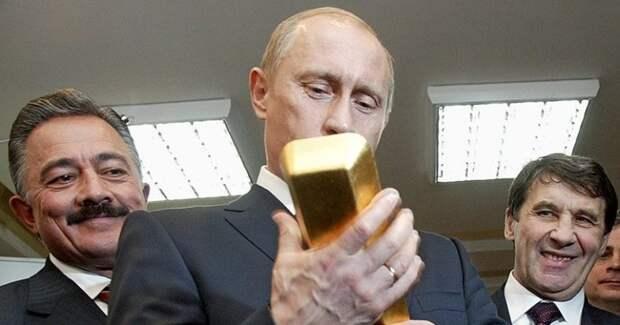 Экономика и финансовые запасы России растут на фоне удручающих глобальных