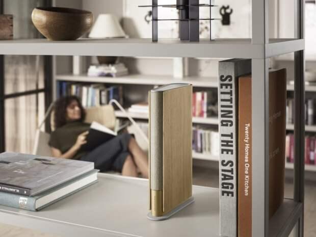 Bang & Olufsen создала ультратонкую домашнюю колонку в виде книги