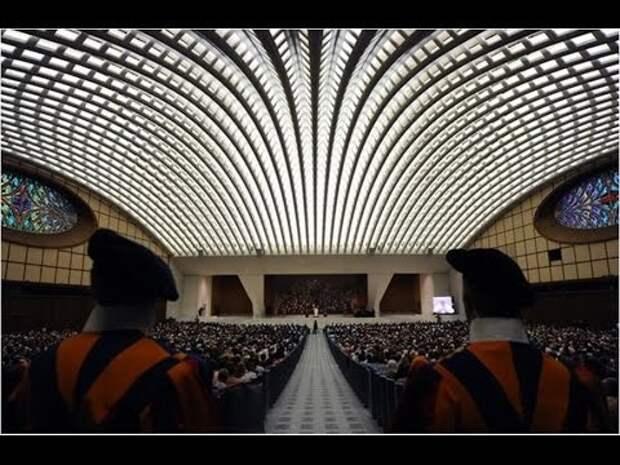 ТАЙНЫЕ ХОЗЯЕВА ЗЕМНЫХ РЕЛИГИЙ. Большой секрет конференц-зала Папы Римского
