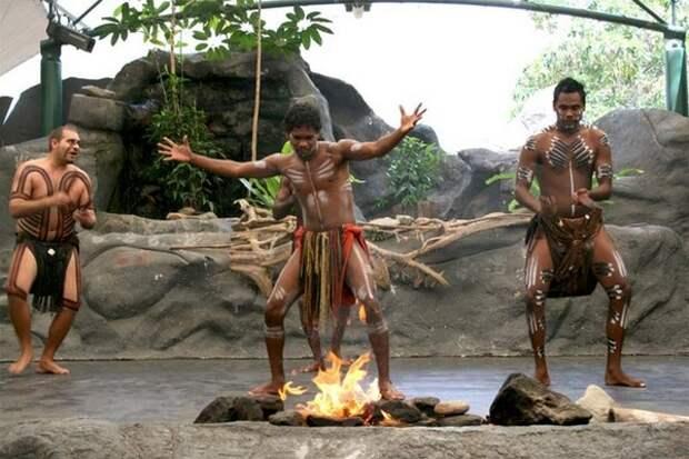 Священный танец аборигенов Австралии – Корробори