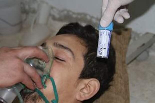 Химическая атака в пригороде Дамаска
