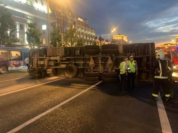 ПСО № 204 ликвидировали последствия ДТП на Садовом кольце