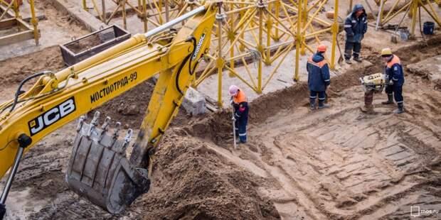 Транспортную развязку возведут на пересечении МКАД и Волоколамского шоссе