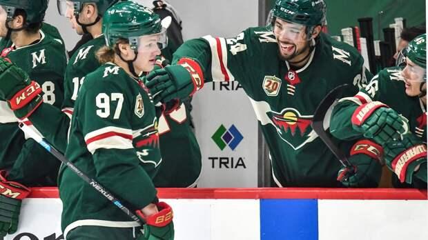 Капризову разбили голову шайбой, а он вернулся на лед и забил! Хоккейный подвиг русской звезды в НХЛ