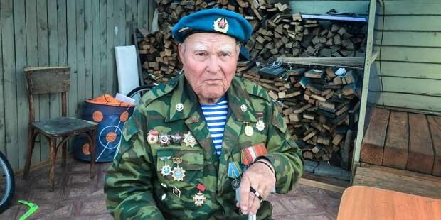Война и жизнь старейшего десантника России Георгия Ивкина