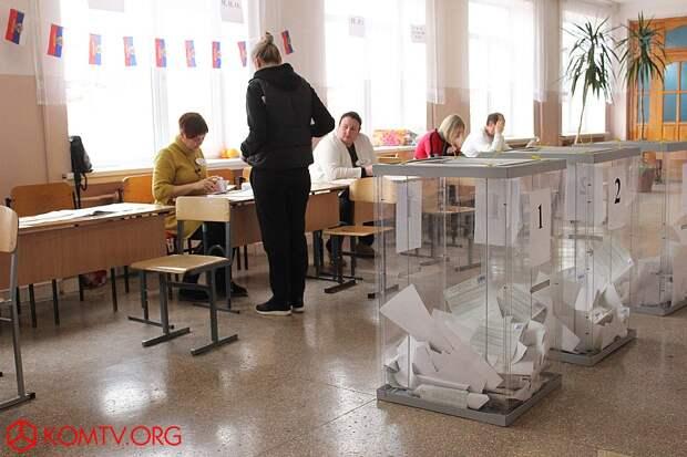 Избирательный участок №444 (школа №17) Выборы в Крыму 2018  1