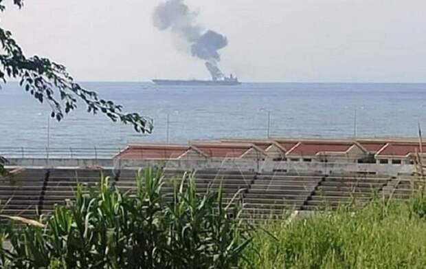 Российские военкоры узнали правду о взрыве танкера у берегов Сирии