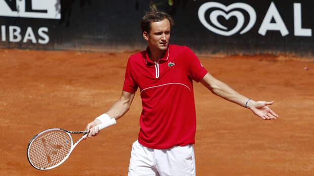 Кафельников не считает сенсацией победу Карацева над Медведевым на турнире ATP в Риме