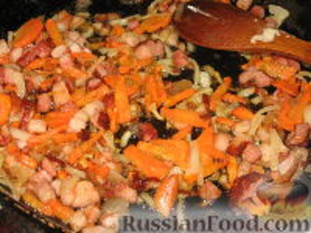 Фото приготовления рецепта: Кулеш с зайчатиной - шаг №4