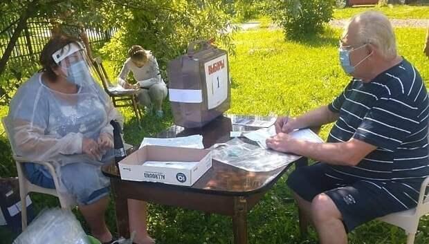 Жители сельских территорий Мытищ проголосовали по поправкам в своих деревнях