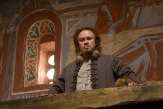 Кадр из фильма «Орда». Виталий Хаев в образе Ивана Красного