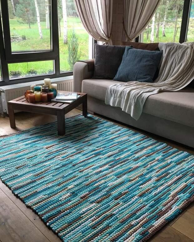Современные ковры для украшения интерьера