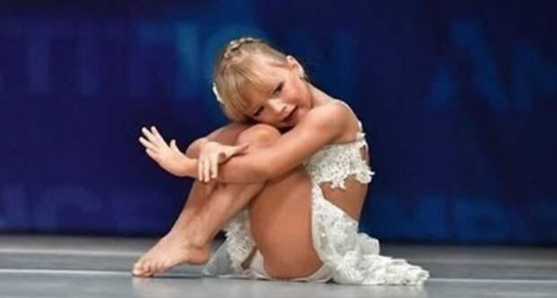 5-летняя девочка станцевала под песню «Time to say goodbye» и растрогала до слез всех зрителей