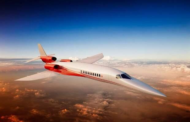 Российские авиаконструкторы создадут сверхзвуковой бизнес-джет