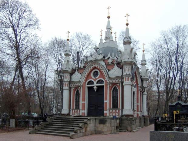 Часовня на Преображенском кладбище «О девяти крестах»