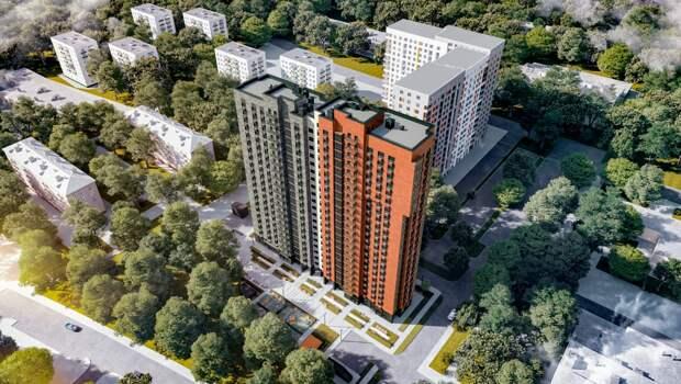 В Останкине началось строительство жилого дома по реновации