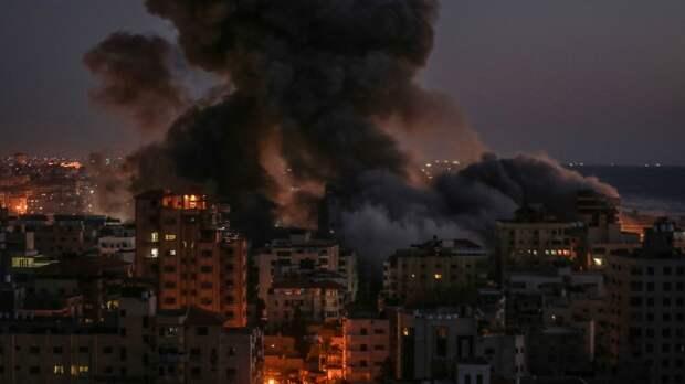 Число жертв ударов ВВС Израиля по сектору Газа возросло до 170