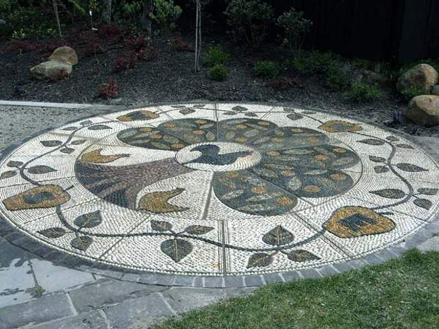 красиавые дорожки с мозаикой фото