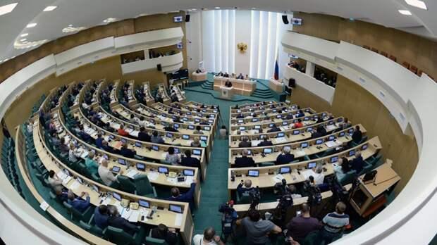 В Совфеде оценили заявление Зеленского об Украине как центре Европы