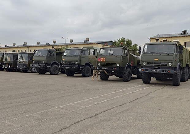 Мобильный госпиталь Южного военного округа и Черноморского флота отправился в Абхазию для помощи в борьбе с СOVID-19
