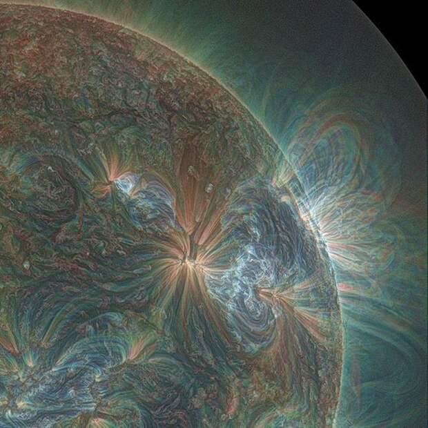 Солнце в ультрафиолете. жизнь, интересные, фото