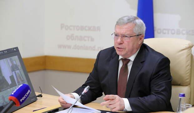 Голубев раскритиковал профилактическую работу против пожаров вРостовской области