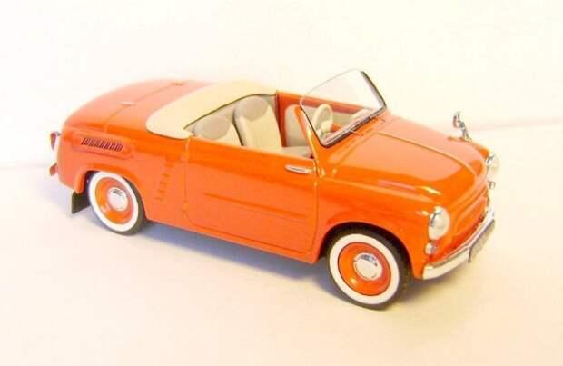 ЗАЗ-965 родстер авто, автодизайн, газ, запорожец, моделизм, модель, москвич, советские автомобили