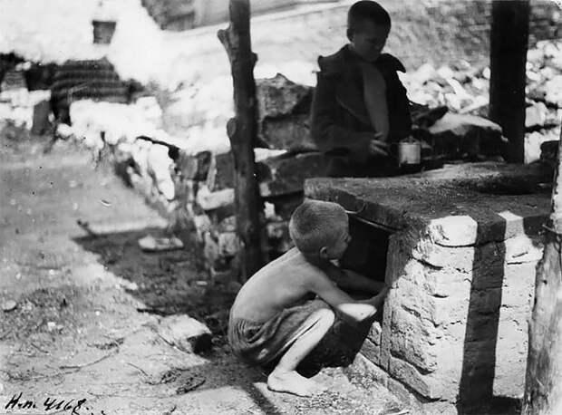 Редкие фотографии: беспризорники России 20-х годов
