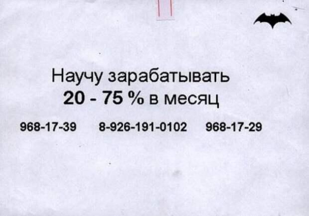 Прикольные объявления и надписи (24 фото)