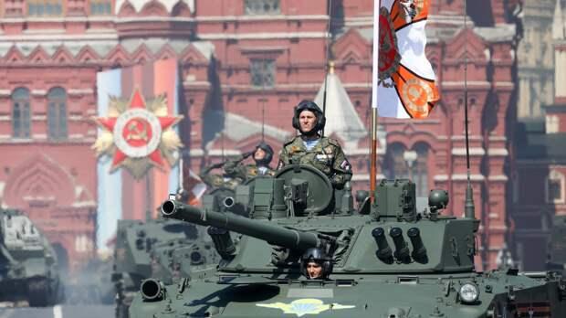 В Москве началась генеральная репетиция парада Победы с участием 12 тысяч военнослужащих