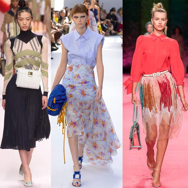 Прозрачные юбки 2019