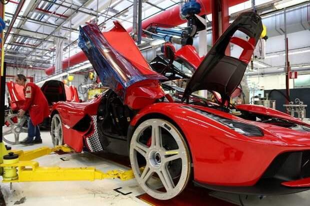 обслуживание Ferrari