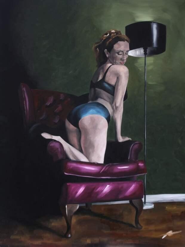 Женское тело. Adam Hornsby
