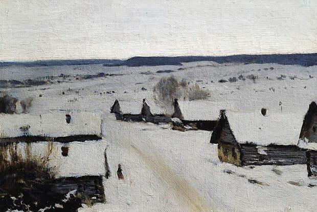 Зима в картинах русских художников