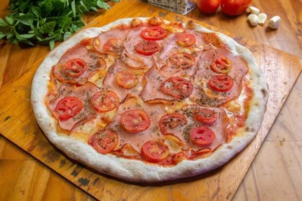 Эта разнообразная пицца