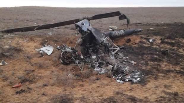 Один человек погиб при крушении вертолета Robinson в Архангельской области
