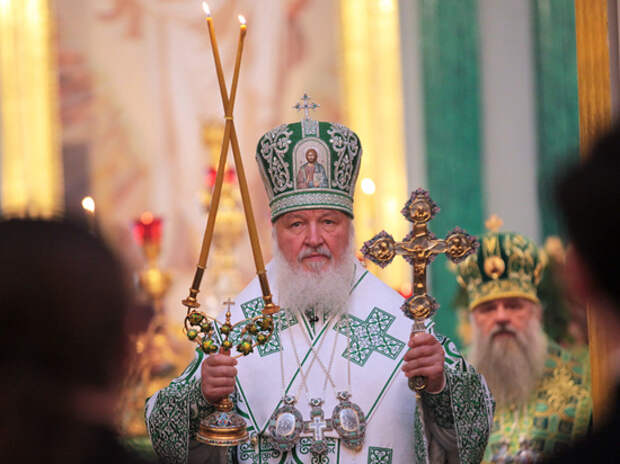 Патриарх Кирилл поздравил Зеленского с Днем крещения Руси