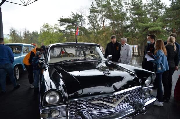 Глава Дзержинска Иван Носков посетил площадки празднования Дня Победы в городских парках