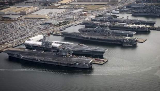 Пентагон собрал в одном месте весь флот! Глубинное государство готовит Перл-Харбор 2?
