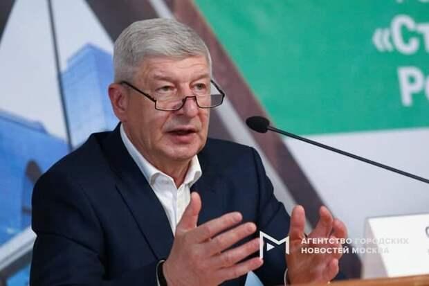 Руководитель департамента градостроительной политики Сергей Левкин Фото: АГН «Москва»