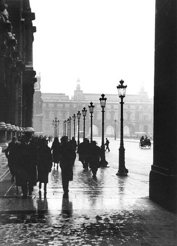 Дождливый Париж, 1930-е.