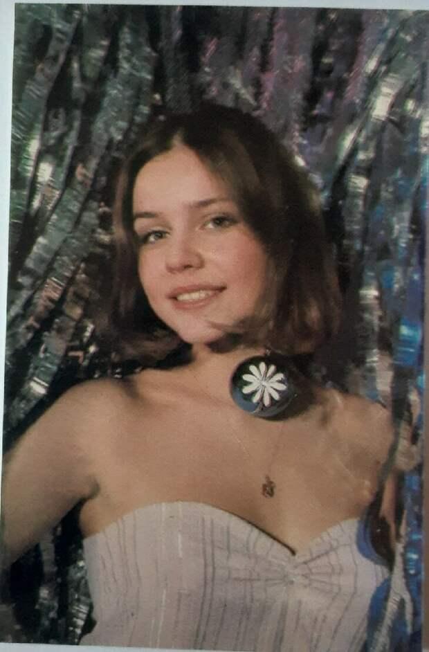 Звезда 90-х, актриса - Марина Зудина. Календарик за 1991г. Фото: автора.