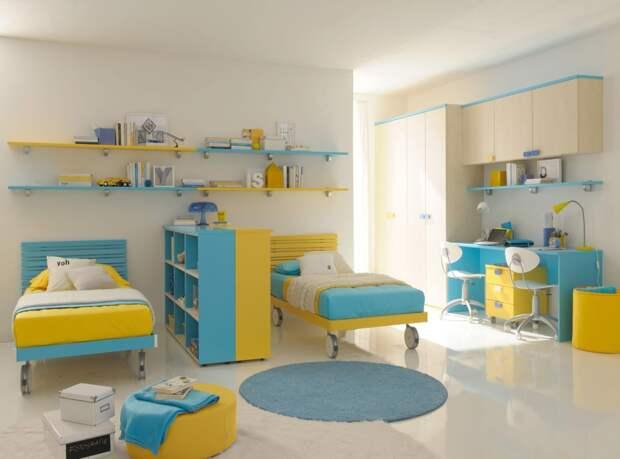 Какой должна быть детская комната для мальчиков разного возраста (60 фото)