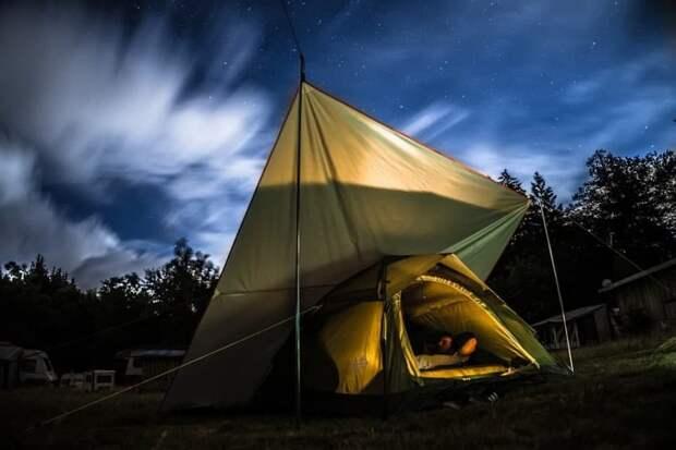 В Тимирязевском лесопарке нет запрета на установку палаток