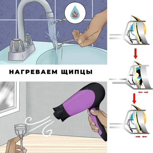 Русские ресницы - новый тренд, который можно повторить тушью.