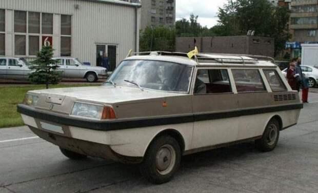 """Самодельный автомобиль-амфибия """"Ихтиандр"""""""