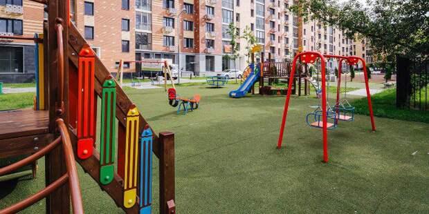 Детская площадка/ Фото mos.ru