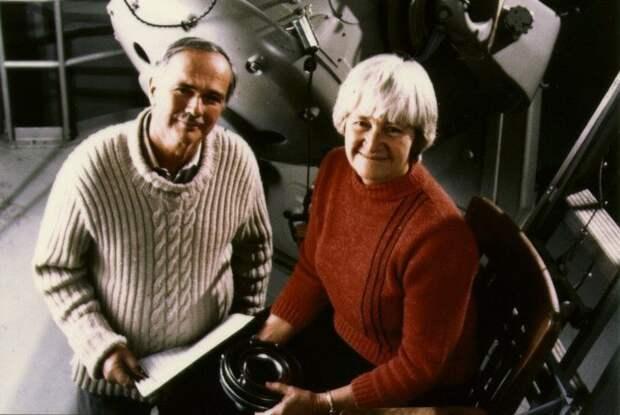 Евгений Шумейкер и его жена, соратник Кэролайн Шумейкер.