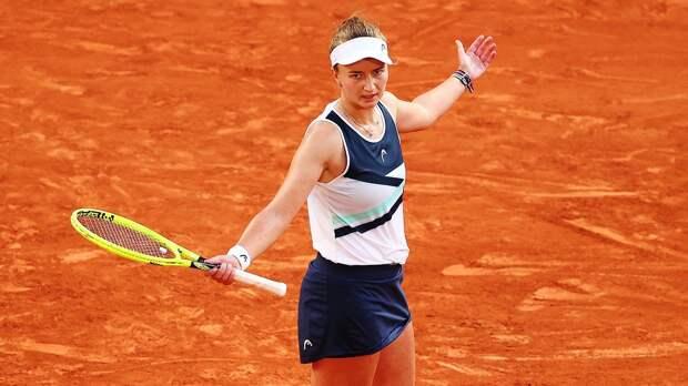Крейчикова: «До сих пор не могу поверить, что смогла выйти в финал «Ролан Гаррос»
